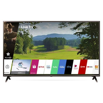 "UK6300PUE 4K HDR Smart LED UHD TV w/ AI ThinQ® - 49"" Class (48.5"" Diag)1"