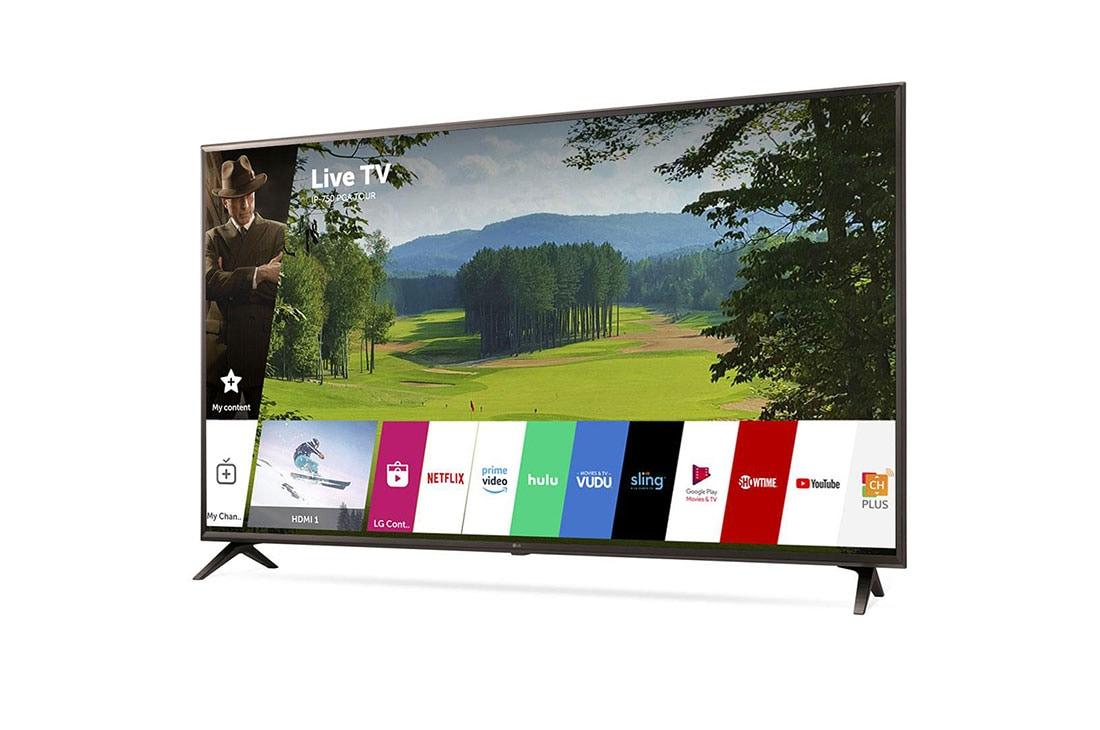 UK6300PUE 4K HDR Smart LED UHD TV w/ AI ThinQ® - 50'' Class (49 5'' Diag)