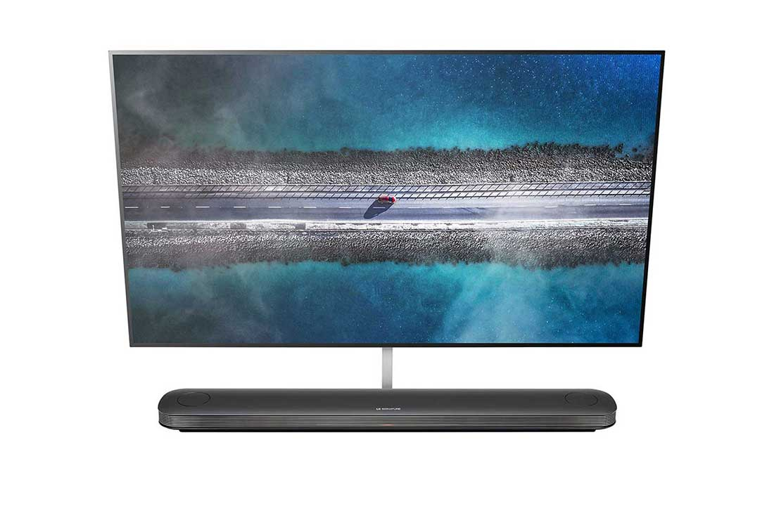 W9 77 Inch OLED Wallpaper TV at CES 2019