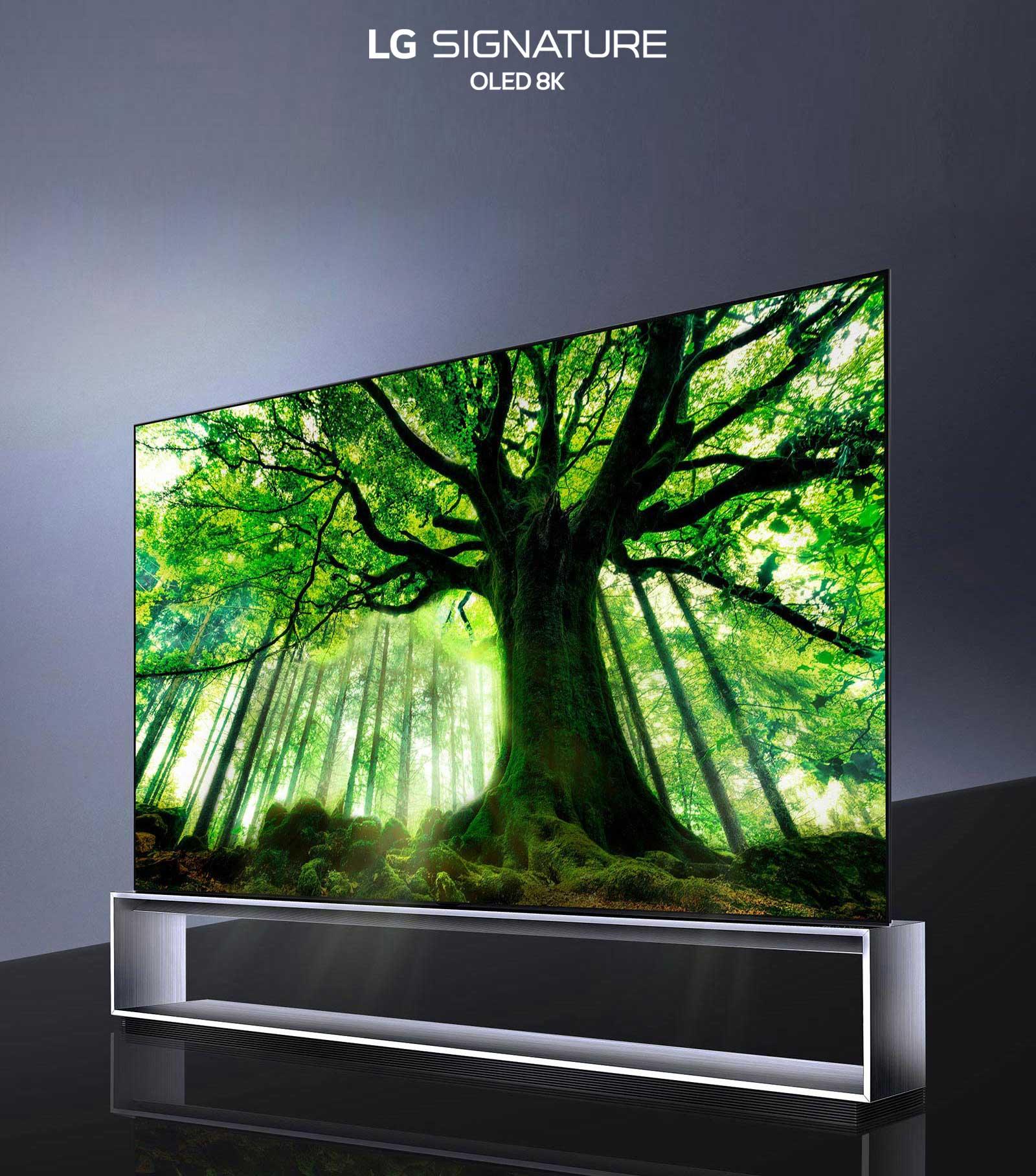 Первый в мире LG OLED 8K TV3