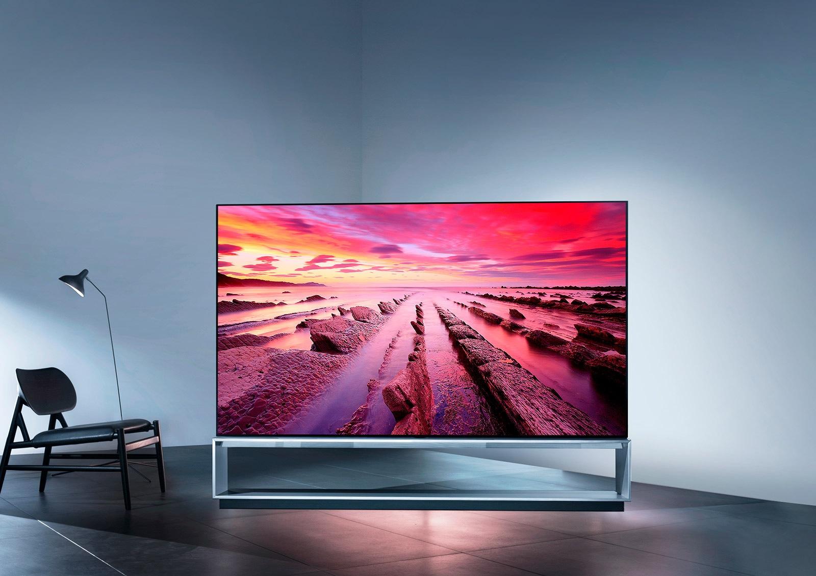 88-дюймовый OLED-телевизор - это инновация 8K в самом большом масштабе1