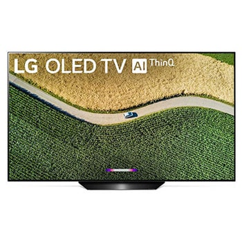 LG B9 55 inch Class 4K Smart OLED TV w/AI ThinQ® (54.6'' Diag)1