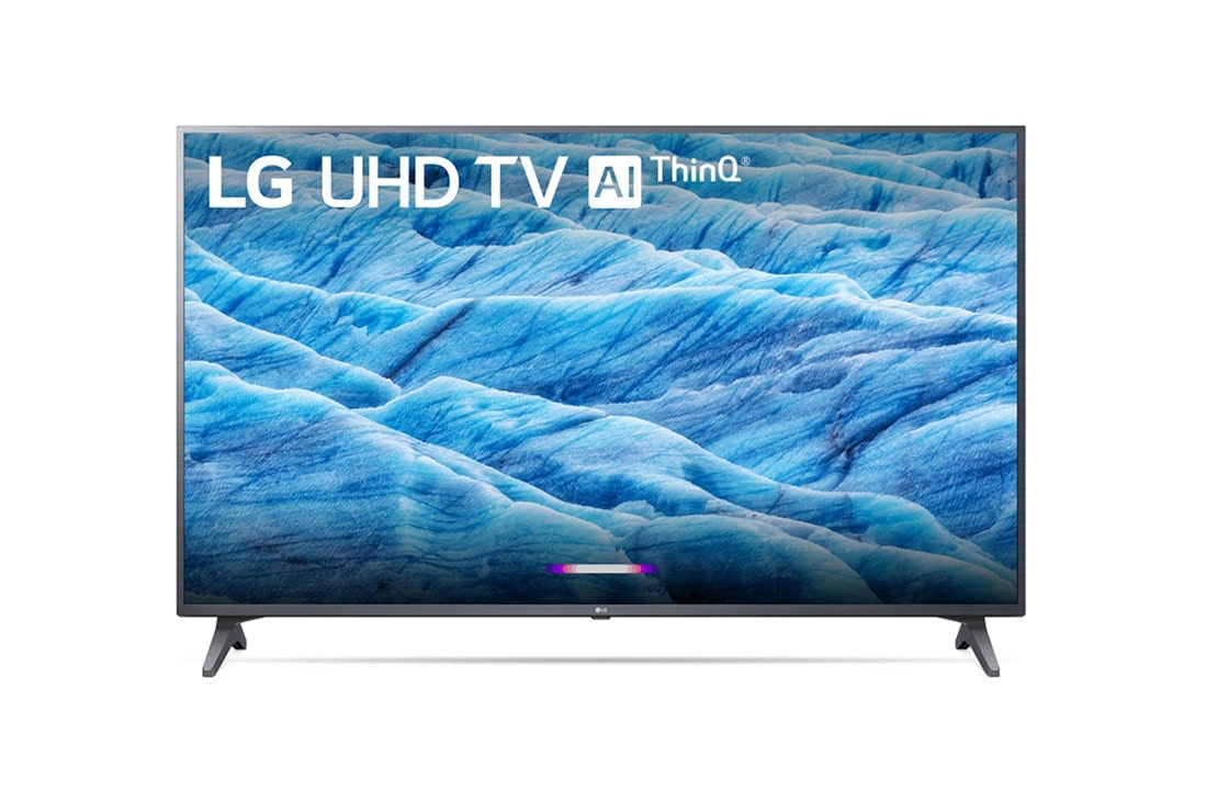 LG 55 inch Class 4K Smart UHD TV w/ AI ThinQ® (54 6'' Diag)