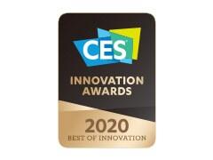 Zmagovalec nagrade CES 2020 Best of Innovation v video prikazih