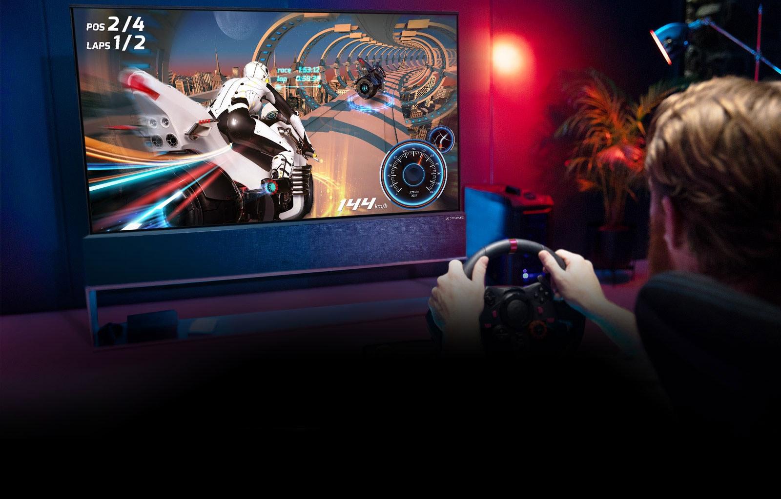 Oglejte si, kako vam televizorji LG zagotavljajo prednost pri igranju iger