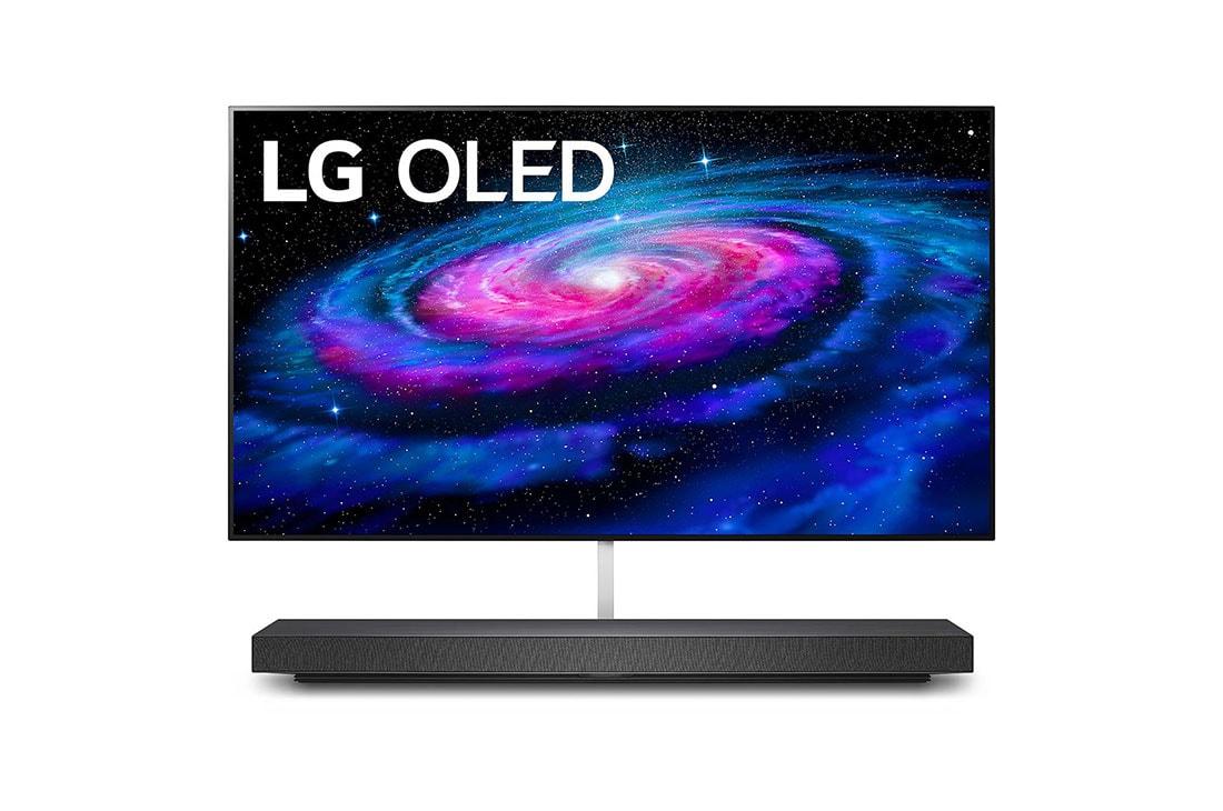 LG WX 65 inch Class Wallpaper 4K Smart OLED TV w/ AI ThinQ ...