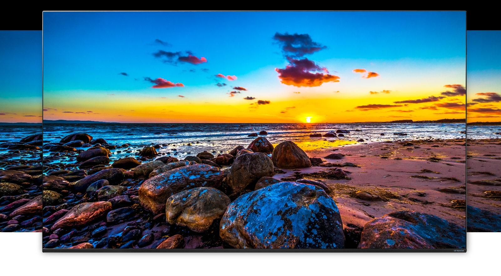 See LG NanoCell TV bring 4K to life