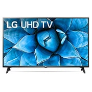 LG 55 inch Class 4K Smart UHD TV with AI ThinQ® (54.6'' Diag), Front view, 55UN7300PUF, thumbnail 2