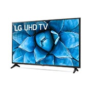 LG 55 inch Class 4K Smart UHD TV with AI ThinQ® (54.6'' Diag), -15 degree side view, 55UN7300PUF, thumbnail 3