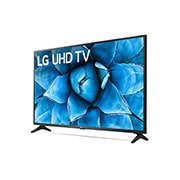 LG 55 inch Class 4K Smart UHD TV with AI ThinQ® (54.6'' Diag), -30 degree side view, 55UN7300PUF, thumbnail 4