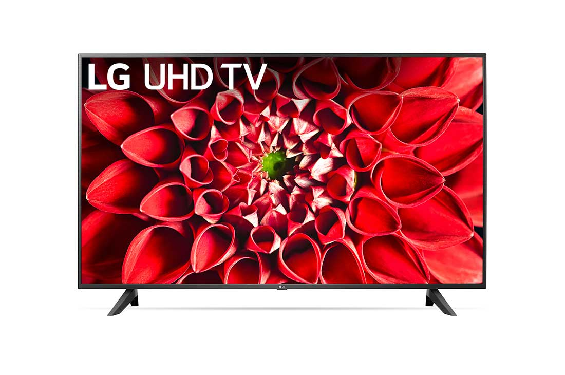 LG UHD 70 Series 65 inch 4K HDR Smart LED TV, Front view with infill image, 65UN7000PUD