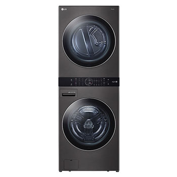Single Unit Front Load LG WashTower™ with Center Control™ 4.5 cu. ft. Washer and 7.4 cu. ft. Gas Dryer1