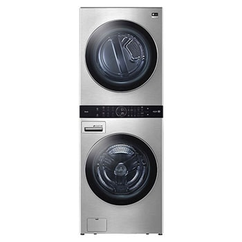 LG STUDIO Single Unit Front Load WashTower™ with Center Control™ 5.0 cu. ft. Washer and 7.4 cu. ft. Gas Dryer1