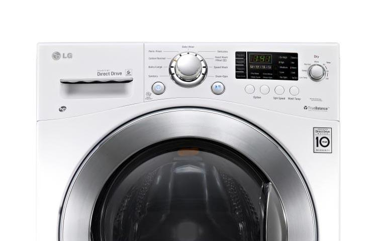 Lg Wm3477hw 24 Inch Compact All In One Washer Dryer Combo Lg Usa