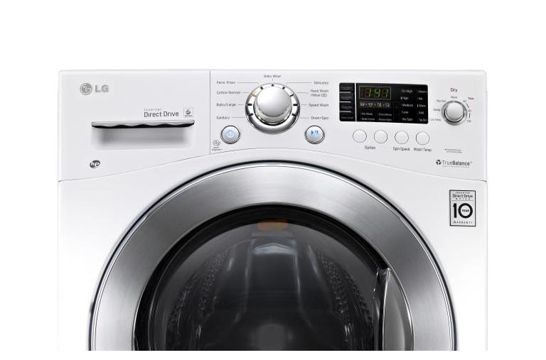 Lg Wm3477hw 24 Inch Compact All In One Washer Dryer Combo