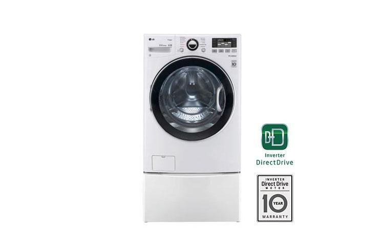 Lg Wm3470hwa 4 0 Cu Ft Ultra Large Capacity Turbowash Washer With Steam Technology Lg Usa
