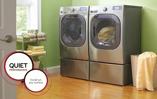 49 cuft mega capacity front control turbowash washer