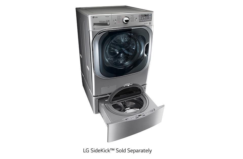 5 2 cu  ft  Mega Capacity TurboWash™ Washer with Steam™ Technology