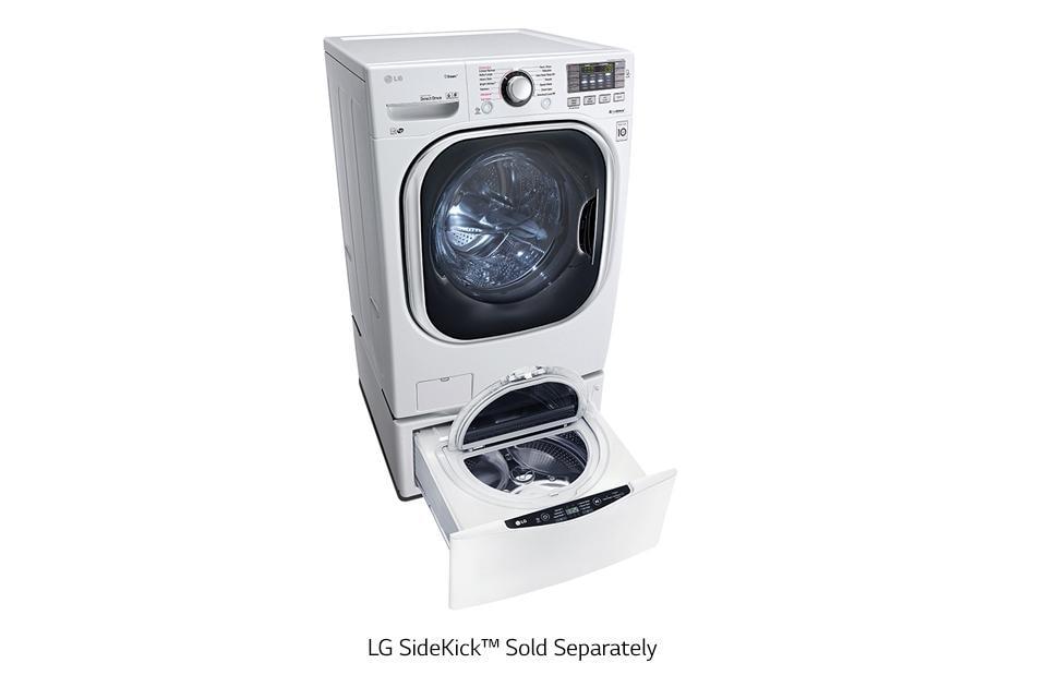 Lg Wm4270hwa 4 5 Cu Ft Ultra Large Capacity Turbowash Washer W Nfc Tag On Lg Usa