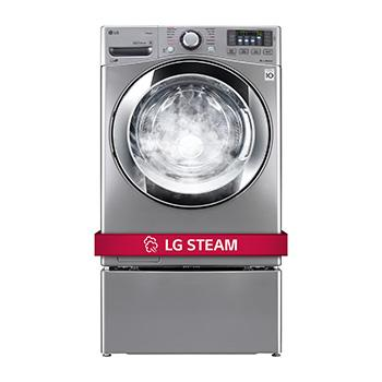 lg wm3670hva ultra large front load smart thinq steam washer lg usa rh lg com LG Stackable Front Load Washers LG Stackable Front Load Washers
