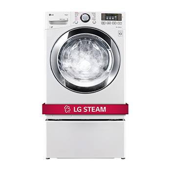 lg wm3670hwa ultra large front load smart thinq steam washer lg usa