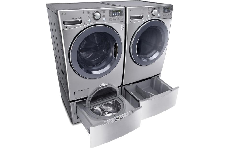 canada pedestal s pairs washer larger laundry dryer view lowe appliances and lg set