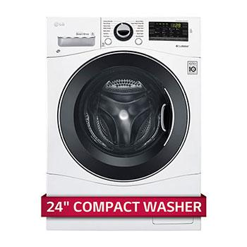 "2.3 cu. ft. Capacity 24"" Compact Front Load Washer w/ NFC Tag On1"