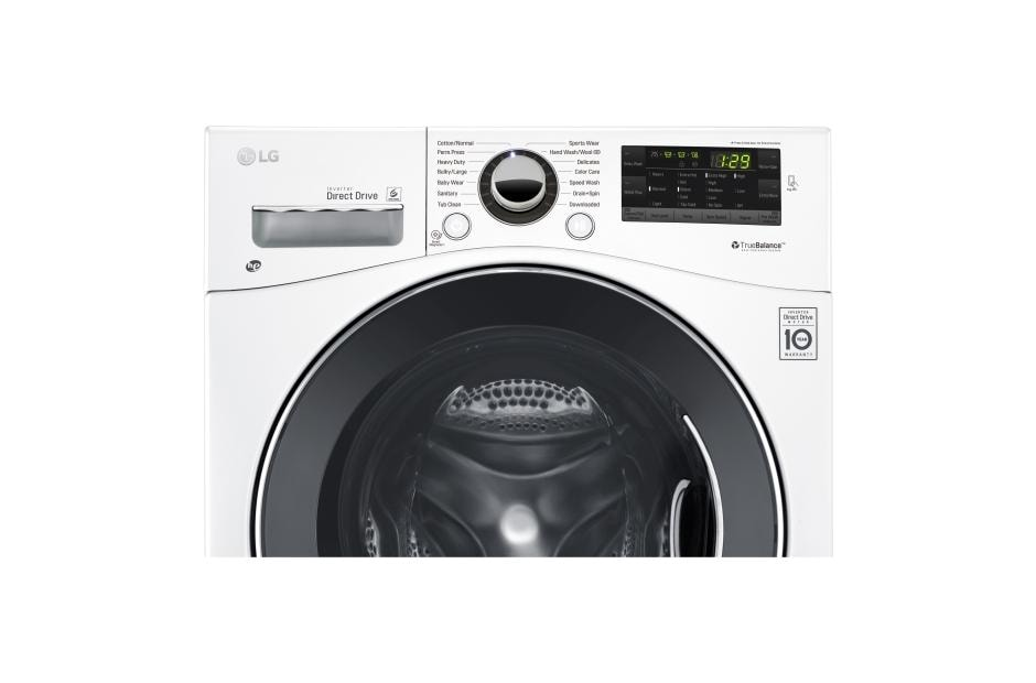 LG WM1388HW: 24 Inch Compact Front Load Washer w/ NFC Tag On | LG USA