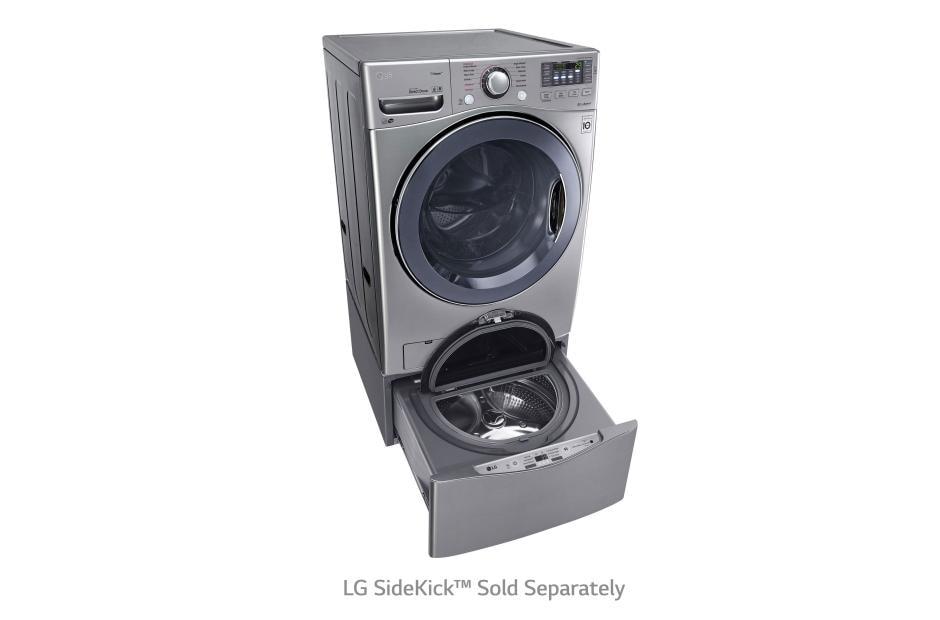 Lg Wm3770hva Ultra Large Capacity Turbowash Washer Lg Usa
