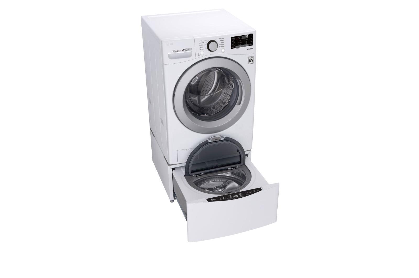 Lavadora de ropa de 35 libras - Ultra Large - Smart wi-fi Enabled Front Load Washer