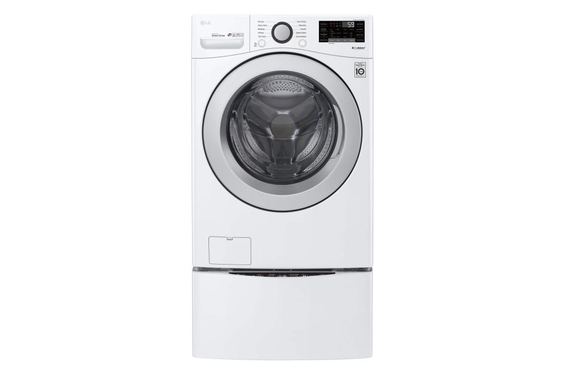 4 5 Cu Ft Ultra Large Smart Wi Fi Enabled Front Load Washer
