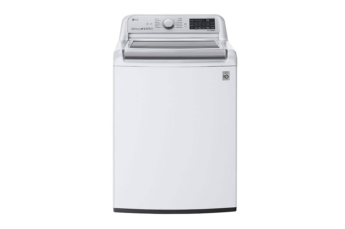 Lg Wt7800cw 5 5 Cu Ft Top Load Washer With Turbowash3d Lg Usa