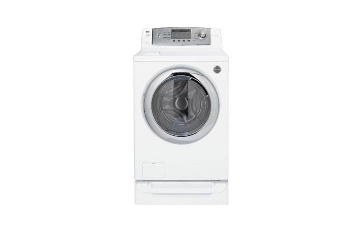 Lg Wm0642hw Rear Control Front Load Washer With 7 Washing Programs Lg Usa