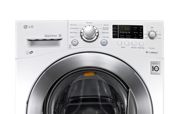 Lg Wm1377hw Large Capacity 24 Inch Compact Front Load Washer Lg Usa