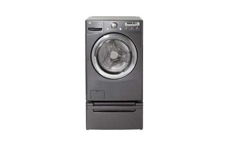 Lg Wm2455hg Front Load Stackable Washer With 9 Washing Programs Lg Usa