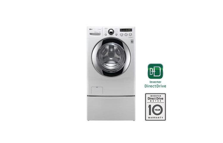 Lg Wm2550hwca Large Capacity Front Load Washer With Truesteam Lg Usa