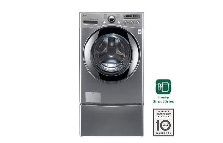 Lg Wm2655hva 3 6 Cu Ft Extra Large Capacity Steamwasher With Coldwash Technology Lg Usa