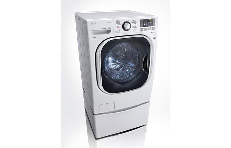 LG WM4270HWA Ultra Large TurboWash Washer with NFC Tag On LG USA