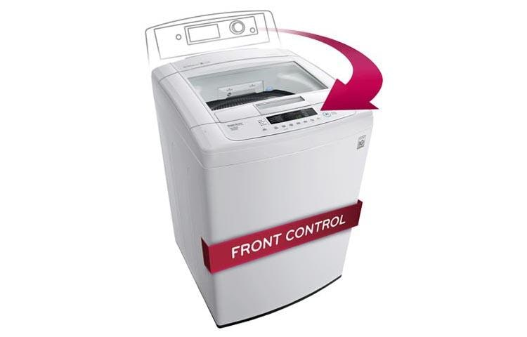 LG WT1101CW  Large Top Load Smart Washer with Front