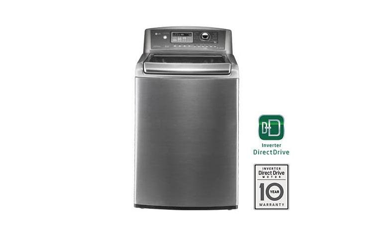 Lg Wt5101hv 4 5 Cu Ft Ultra Large High Efficiency Top Load Washer Lg Usa