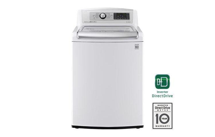 Lg Wt5480cw 5 0 Cu Ft Mega Capacity Turbowash Washer Lg Usa