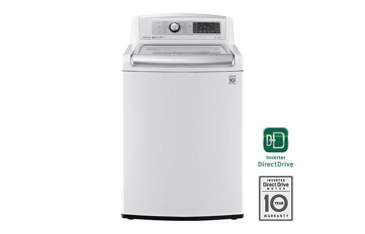 Lg Wt5680hwa 5 0 Cu Ft Mega Capacity Turbowash Washer With Steam Lg Usa