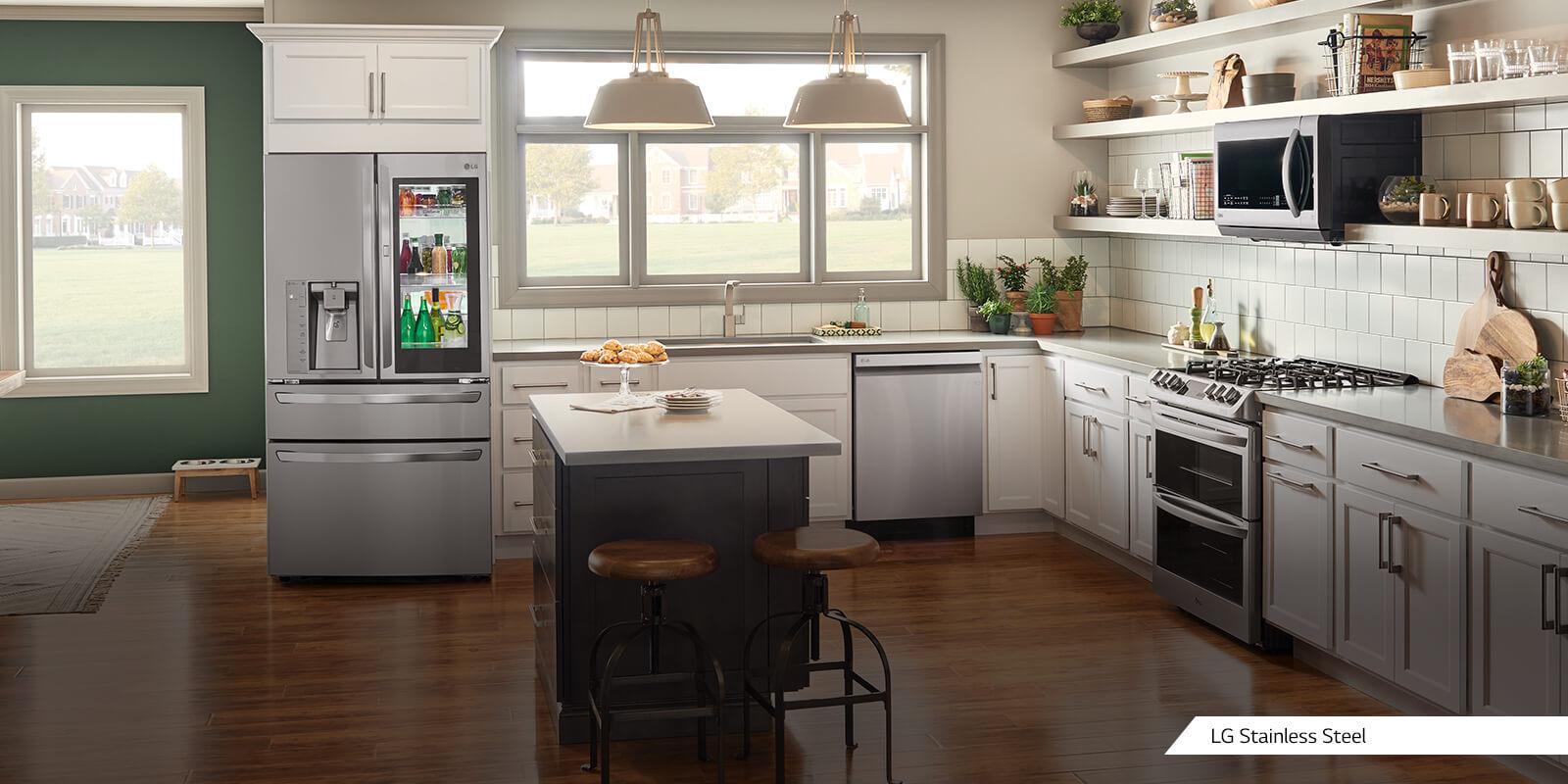 Premier Kitchen Appliance Finishes | LG USA