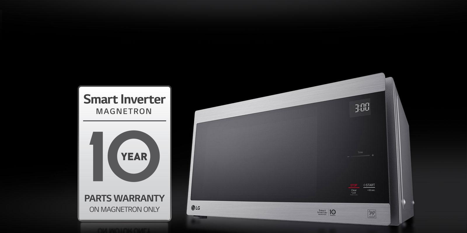 lg smart inverter magnetron microwave manual