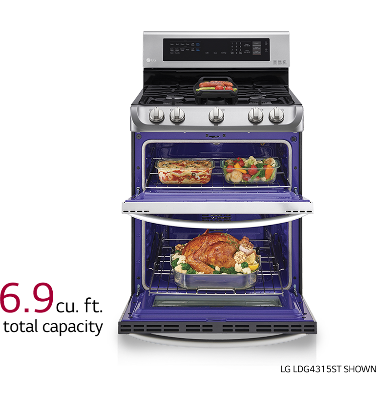 discover lg gas ranges and ovens