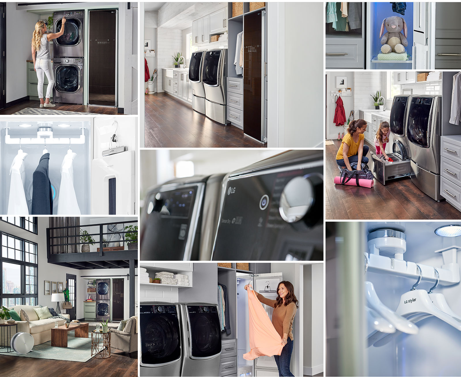 lg styler wifi enabled steam clothing care system