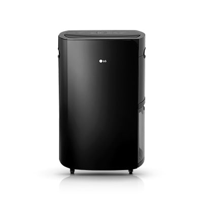 black color LG puricare 50 thinq dehumidifier