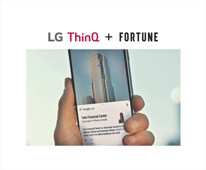LG ThinQ and FORTUNE media tie in