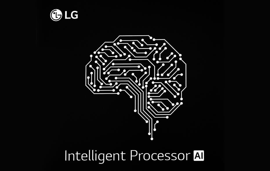 New LG AI Processor with Neural Engine designed to enhance the product performance