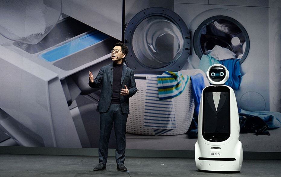 LG CTO DR IP Park delivering promise of AI for a better life at CES 2019